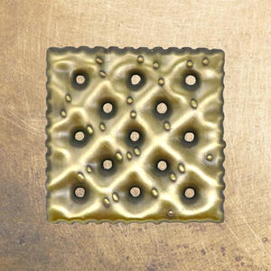 Brass Pin Collection: The Saltine Cracker