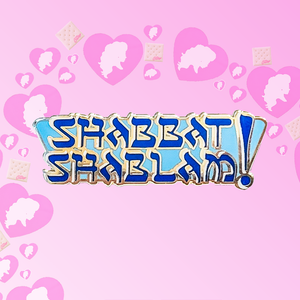 "┃FLAWED┃ ""Shabbat Shablam"" Pin (Miz Cracker)"