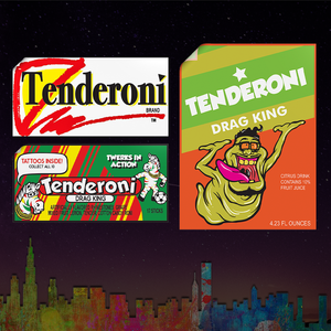 Tenderoni Stickers