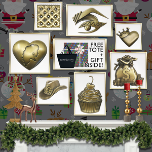 Brass Pin Holiday Bundle Elite Queens