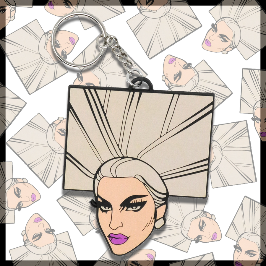 "Chad Sell ""Miz Cracker"" Keychain"