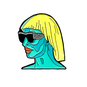 "Detox ""Glitter Sunglasses"" Pin"