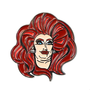 Trannika Rex Double chin pin trannika rex merch
