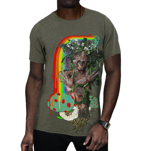 Dryad God of the Forest Tee by Neverland front