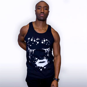 Dripping in Dots (Black/Tank)