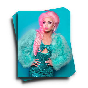 Farrah emerald print Farrah moan merch