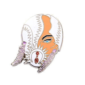 "┃FLAWED┃ ""Finale: Mask"" Pin (Sasha Velour)"