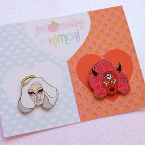"Kim Chi + Just Peachy ""Heaven & Hell"" 2-Pack"