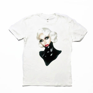 Pearl Dripping in Latex: a Tee Pearl Merch