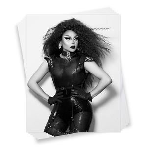 """Miss Vanjie x Miss Janet"": an Autographed Photo of Vanessa Vanjie"