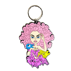 farrah teddy bear keychain Farrah moan merch