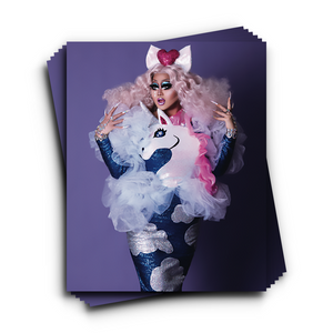 Kims nicorn Fantasy Print Kim Chi Merch
