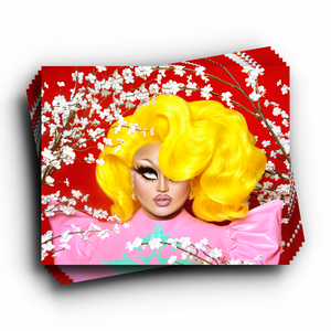Kim Chi Yellow Hair Print kim chi merch