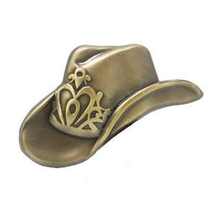 Brass Pin Collection: Mayhem's Cowboy Hat