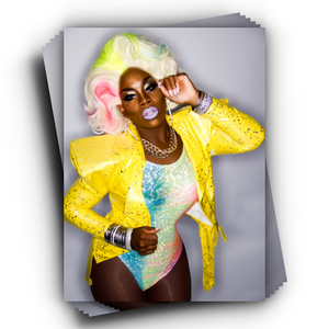 Monét Color Explosion: Autographed Headshot monet x change merch