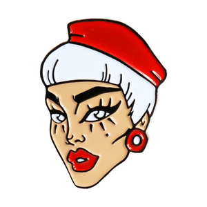 "Naomi ""I ❤️ NS - Beret"" Pin Naomi smalls merch"