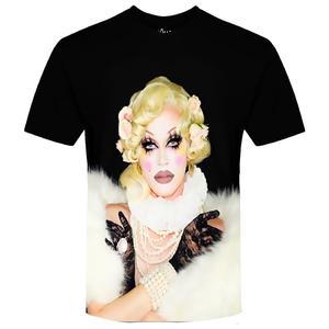 Pearl Re-Born: A Black Sublimation Tee Pearl Merch