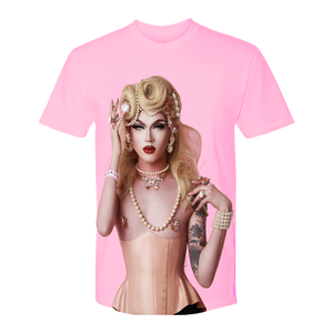 The Courtesan: a Pink Tee