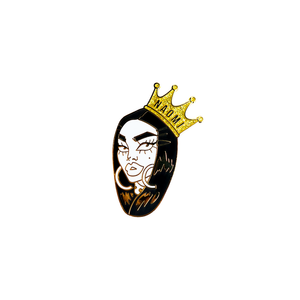 Naomi small crown pin Naomi smalls merch