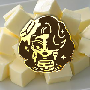 Kim CHi Jumbo Butter Pin Kim Chi Merch