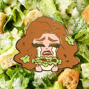 Kim Chi Jumbo Salad pin kim chi merch