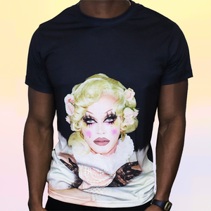 Pearl Re-Born: a Black Sublimation Tee