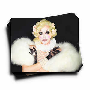 Pearl Re-Born Autographed 8x10 Pearl Merch