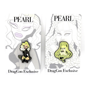 The Seductress: a Pin Set by Pearl Pearl Merch
