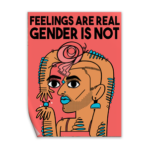 feelings are real gender is not captain magenta alok