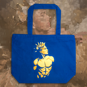 The Purity Ball Tote royal blue