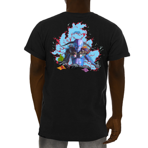 Triton God of the Sea Neverland Tee back