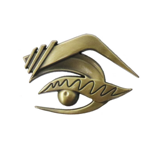 The Vixen Eye Brass Enamel Pin The Vixen Merch