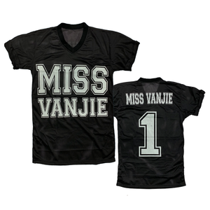 Miss Vanjie black jersey drag queen RuPaul