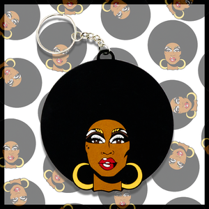 The Vixen drag queen merch PVC Keychain Chad Sell