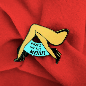 "Naomi ""I ❤️ NS - Menu"" Pin Naomi smalls merch"