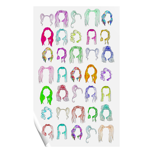 Pearl Wig Wall Art Pearl Merch