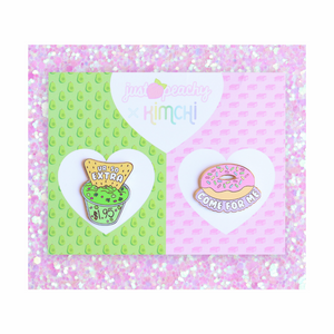 "Kim Chi + Just Peachy ""Food"" 2-Pack"