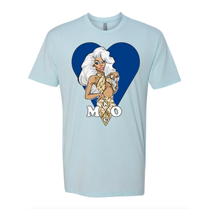 The KCMO tee Monique heart merch