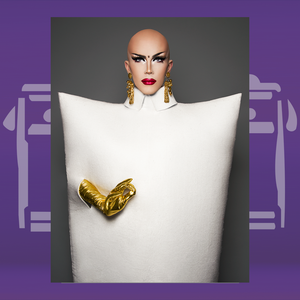 "Adhesive Nº07: Sasha Velour ""Pillow"""