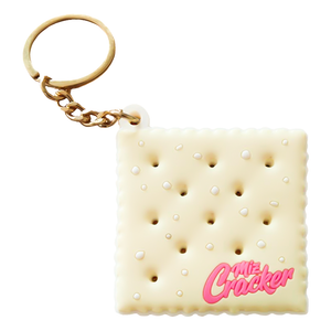 saltine keychain miz cracker merch
