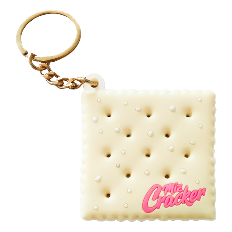 The Saltine Cracker PVC Keychain