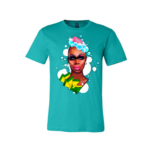 Monet X Change soapy suds t-shirt tee drag merch