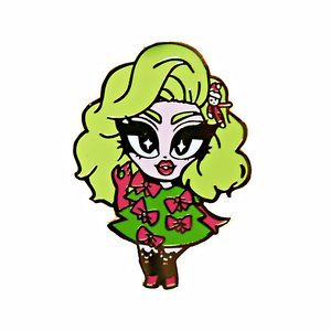 "Kim Chi ""Christmas Tree"" Pin (Limited Edition)"