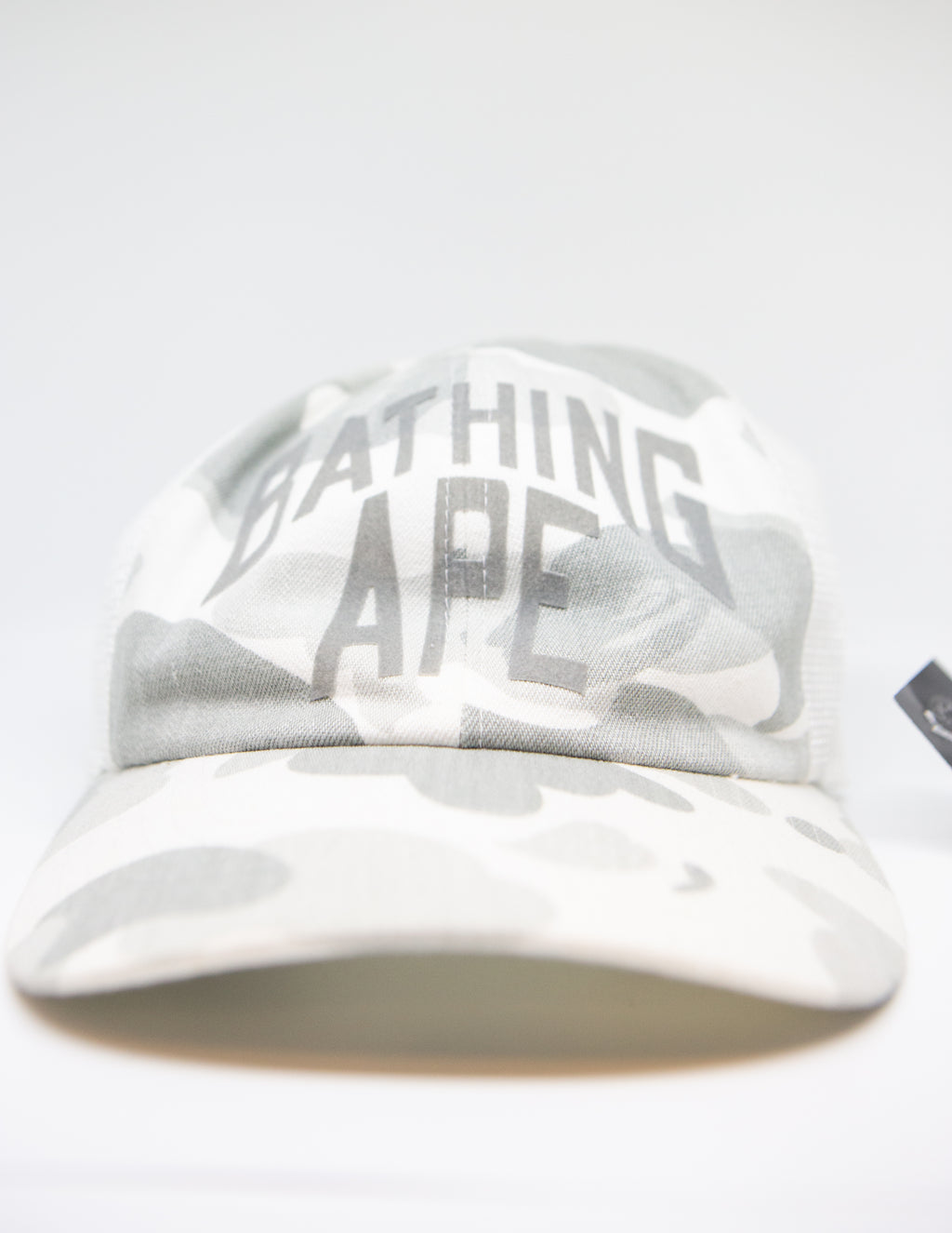 Bape White Camo Trucker Hat (2006)