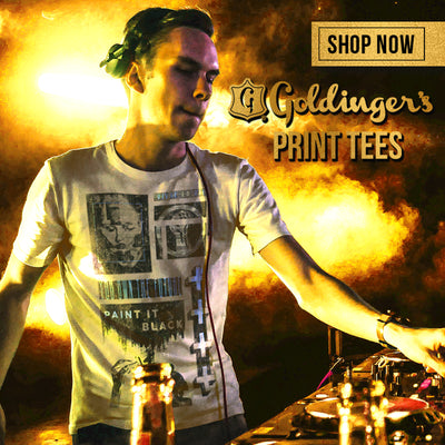 Goldinger's Brand Prints. All tees are 100 percent cotton, soft hand screen printed in Los Angeles since 1927. Click here to shop now.