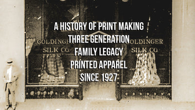 Goldinger's Collectable Mens Print T shirts History