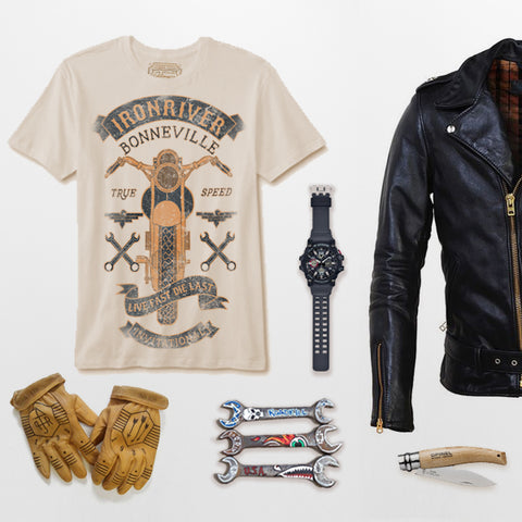 Goldinger's Brand Ironriver tee and items