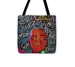 Think On These Things - Tote Bag