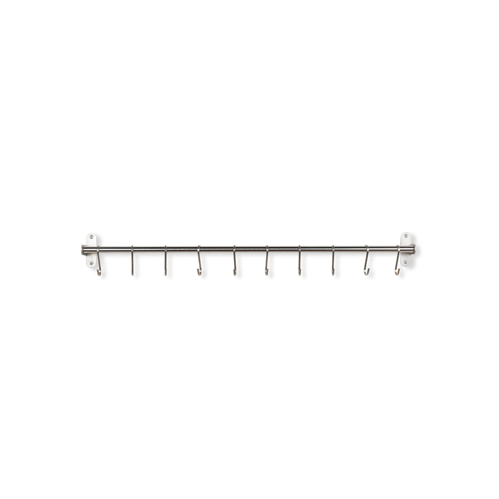 "LYON Rail and Hook – 31.5"" Rail - 10 S Hooks Included"