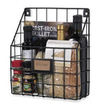 RIVISTA Wire Basket - Black - wallniture